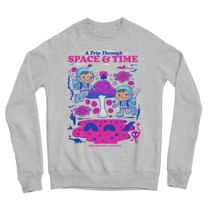 A Trip Through Space and Time Men's Sponge Fleece Sweatshirt by Thomas Orrow