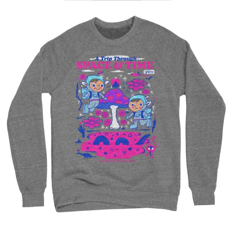 A Trip Through Space and Time Women's Sponge Fleece Sweatshirt by Thomas Orrow