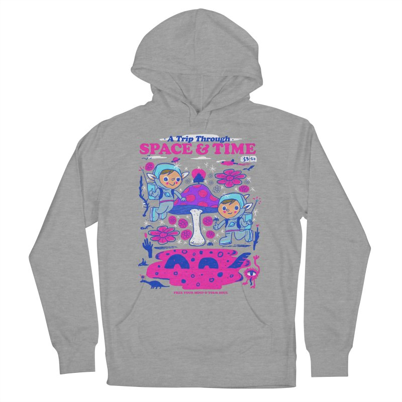 A Trip Through Space and Time Women's French Terry Pullover Hoody by Thomas Orrow