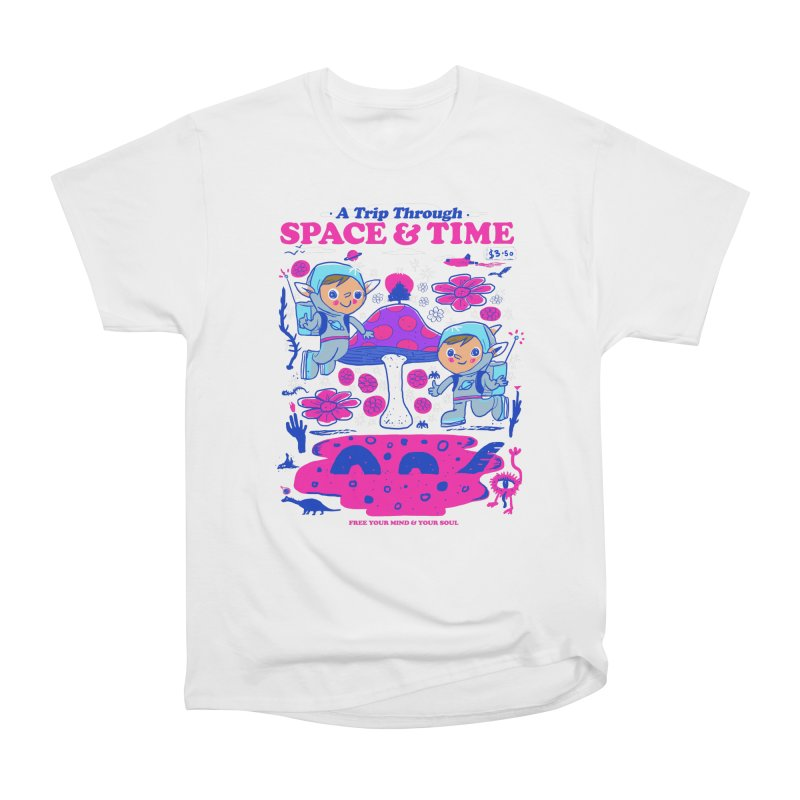 A Trip Through Space and Time Men's Heavyweight T-Shirt by Thomas Orrow
