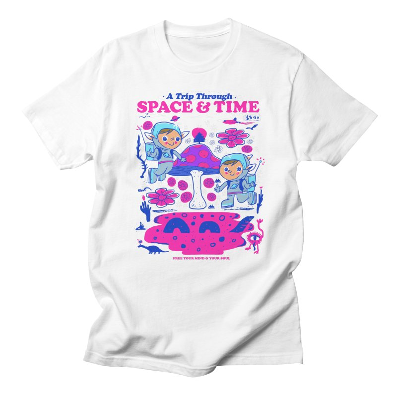 A Trip Through Space and Time Women's Regular Unisex T-Shirt by Thomas Orrow