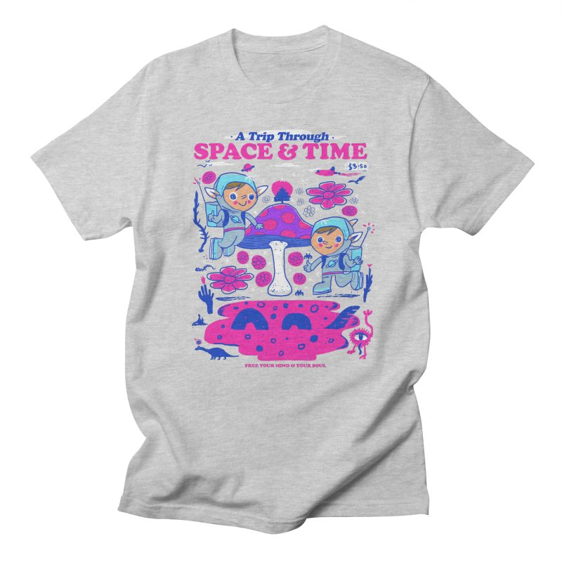 A Trip Through Space and Time Men's Regular T-Shirt by Thomas Orrow
