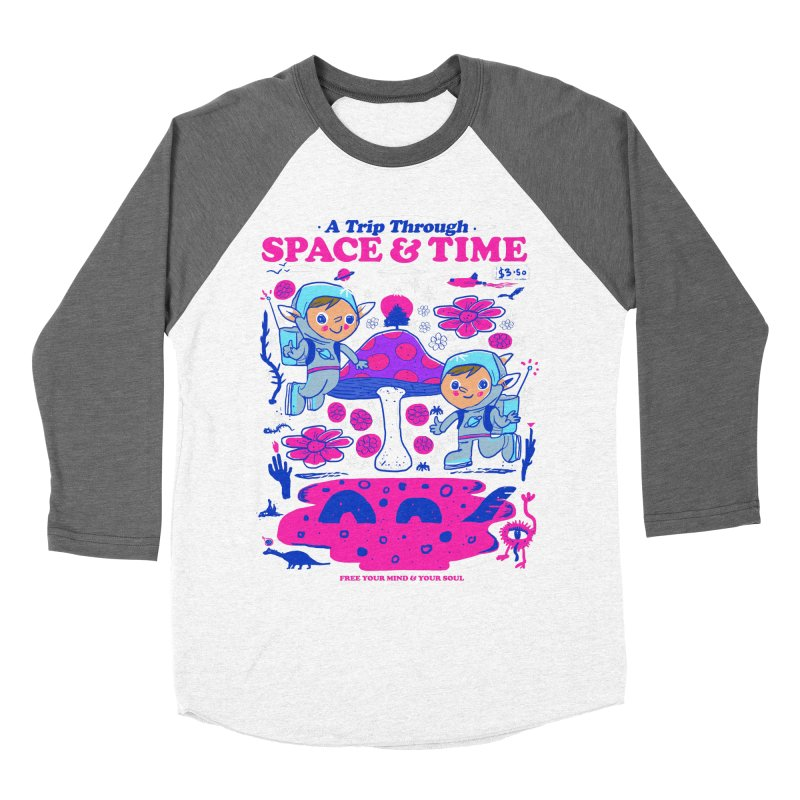 A Trip Through Space and Time Women's Baseball Triblend Longsleeve T-Shirt by Thomas Orrow