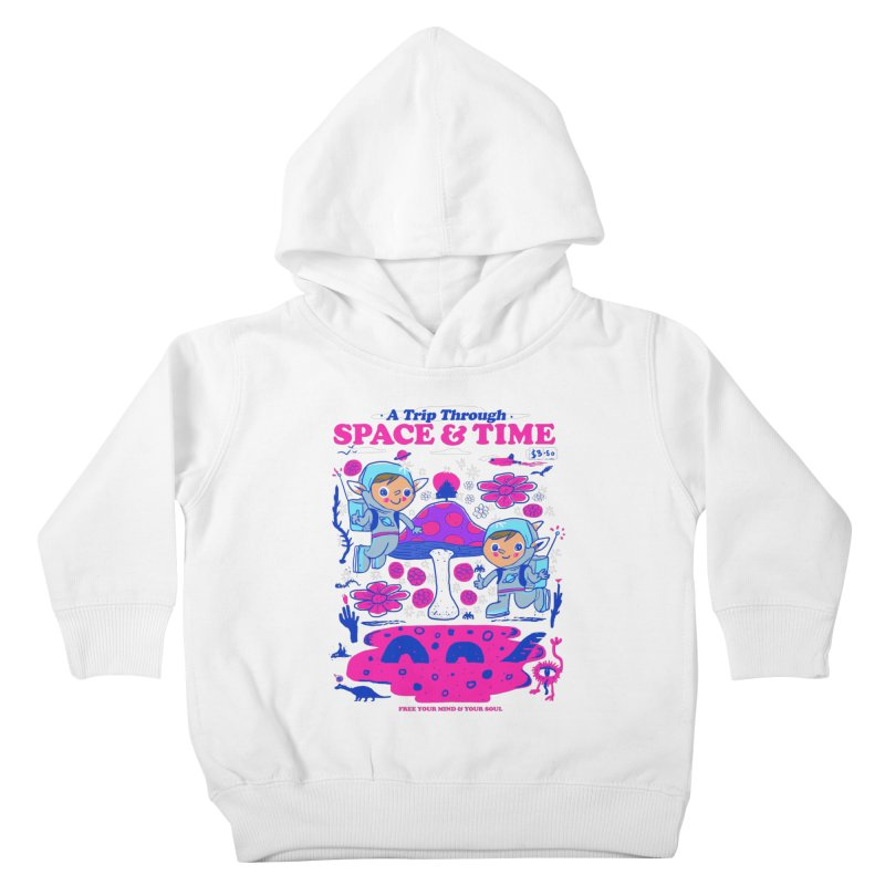 A Trip Through Space and Time Kids Toddler Pullover Hoody by Thomas Orrow