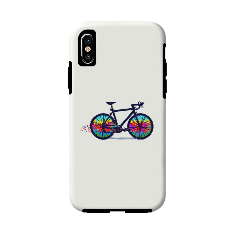 Psychedebicycle Accessories Phone Case by Thomas Orrow