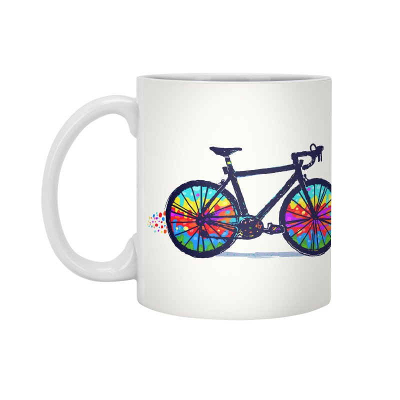 Psychedebicycle Accessories Mug by Thomas Orrow
