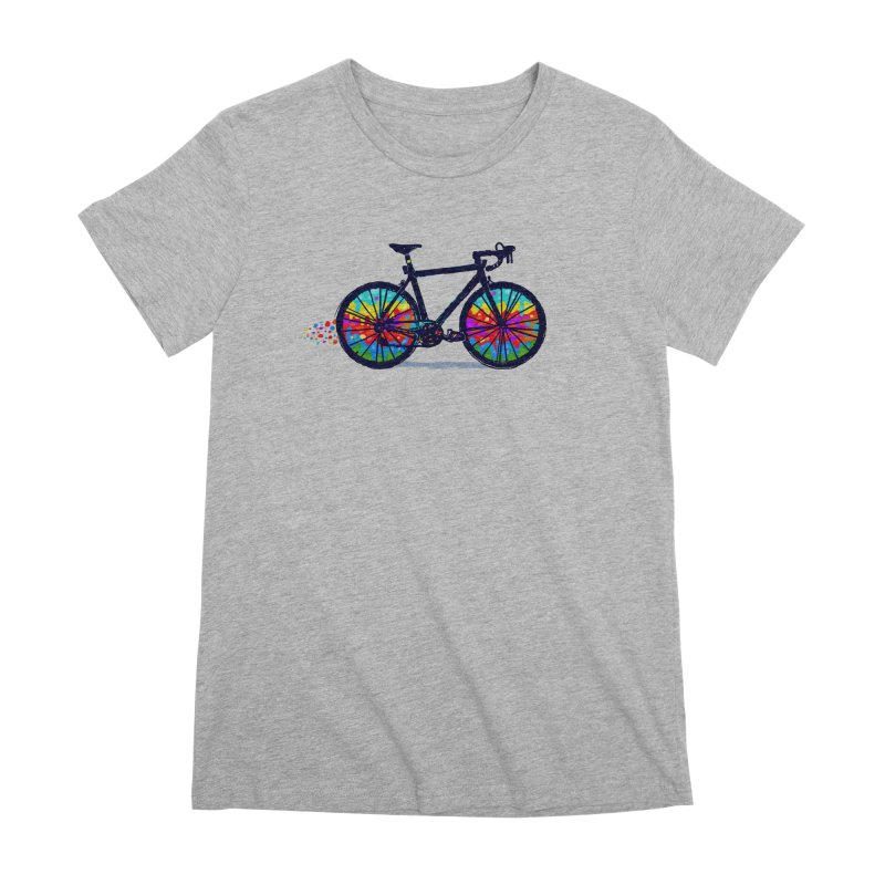 Psychedebicycle Women's Premium T-Shirt by Thomas Orrow