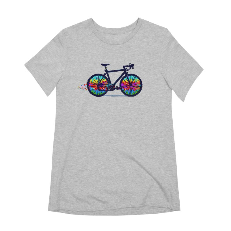 Psychedebicycle Women's Extra Soft T-Shirt by Thomas Orrow