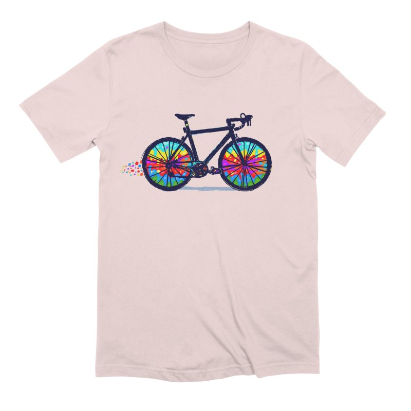 Psychedebicycle Men's Extra Soft T-Shirt by Thomas Orrow