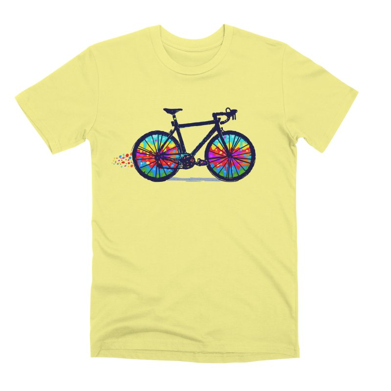 Psychedebicycle Men's Premium T-Shirt by Thomas Orrow