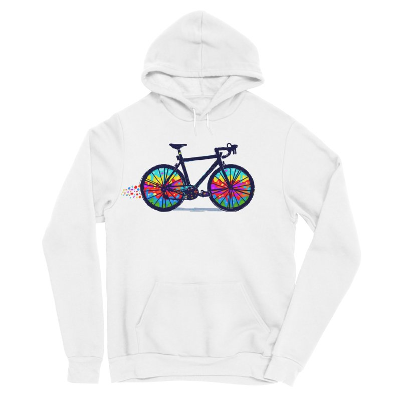 Psychedebicycle Men's Sponge Fleece Pullover Hoody by Thomas Orrow