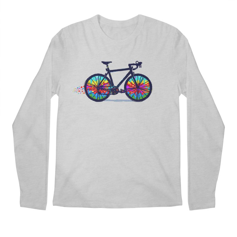 Psychedebicycle Men's Regular Longsleeve T-Shirt by Thomas Orrow