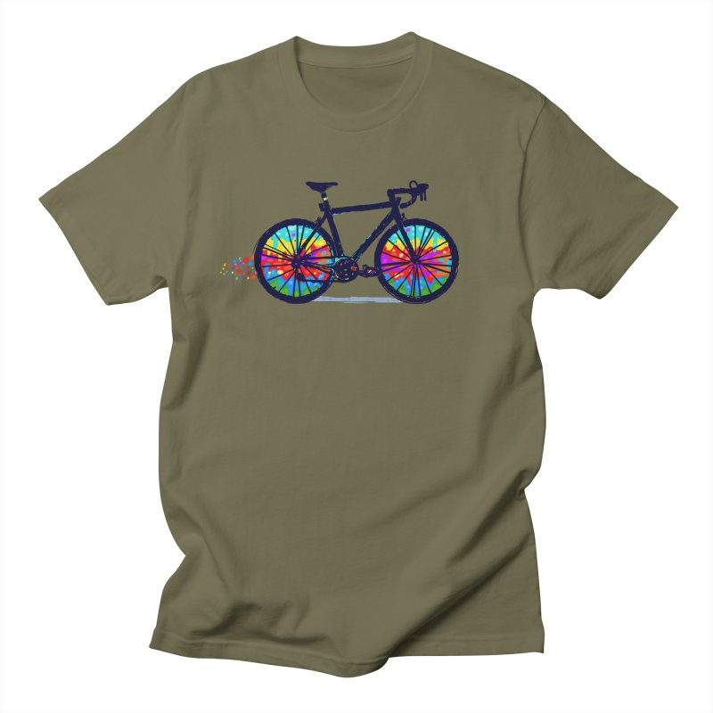 Psychedebicycle Women's Regular Unisex T-Shirt by Thomas Orrow