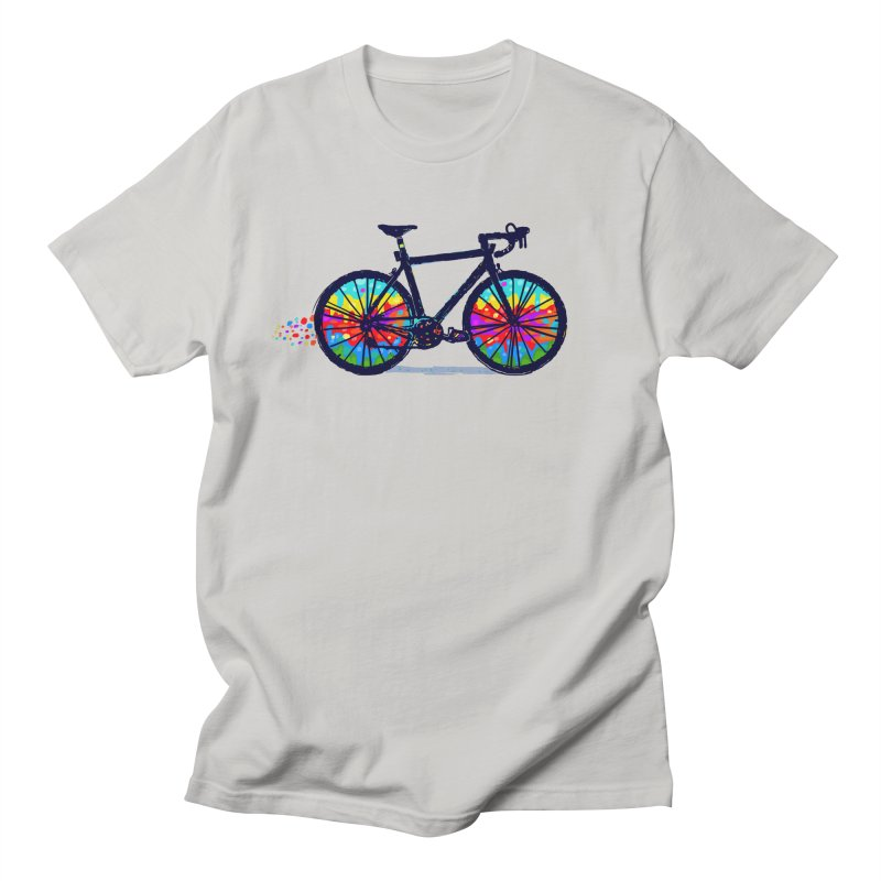 Psychedebicycle Men's Regular T-Shirt by Thomas Orrow