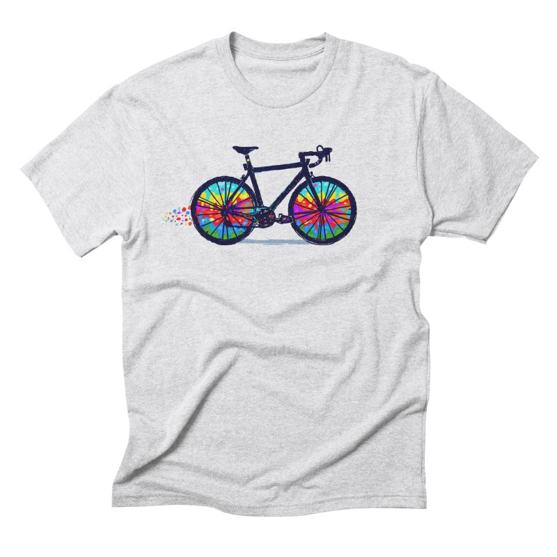 Psychedebicycle Men's Triblend T-Shirt by Thomas Orrow