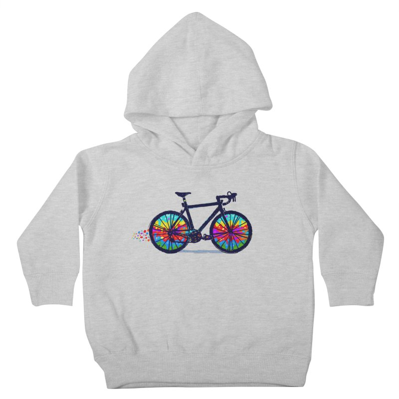 Psychedebicycle Kids Toddler Pullover Hoody by Thomas Orrow