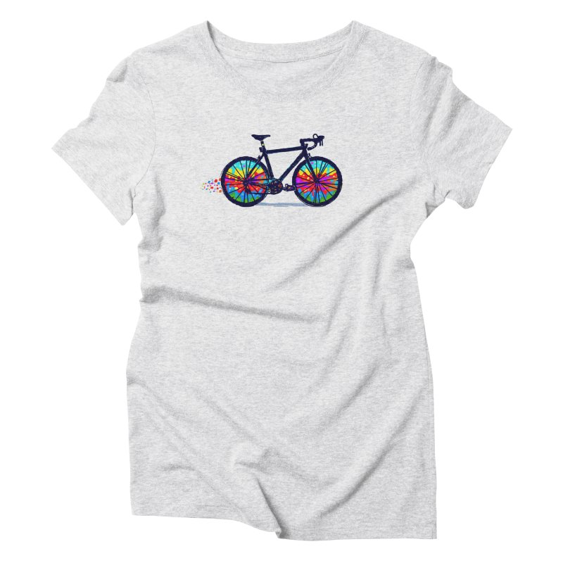 Psychedebicycle Women's Triblend T-Shirt by Thomas Orrow