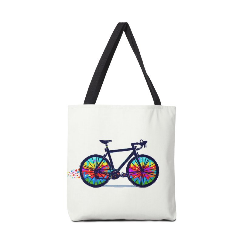 Psychedebicycle Accessories Bag by Thomas Orrow