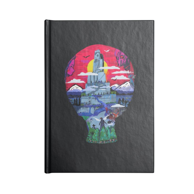 Poe's Dreamland Accessories Notebook by Thomas Orrow