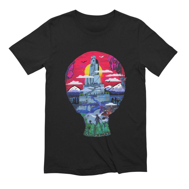 Poe's Dreamland Men's Extra Soft T-Shirt by Thomas Orrow