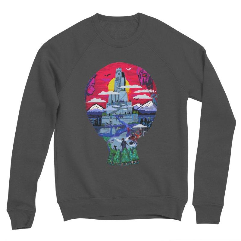 Poe's Dreamland Men's Sponge Fleece Sweatshirt by Thomas Orrow
