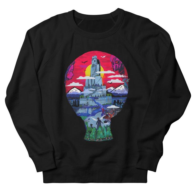 Poe's Dreamland Men's French Terry Sweatshirt by Thomas Orrow