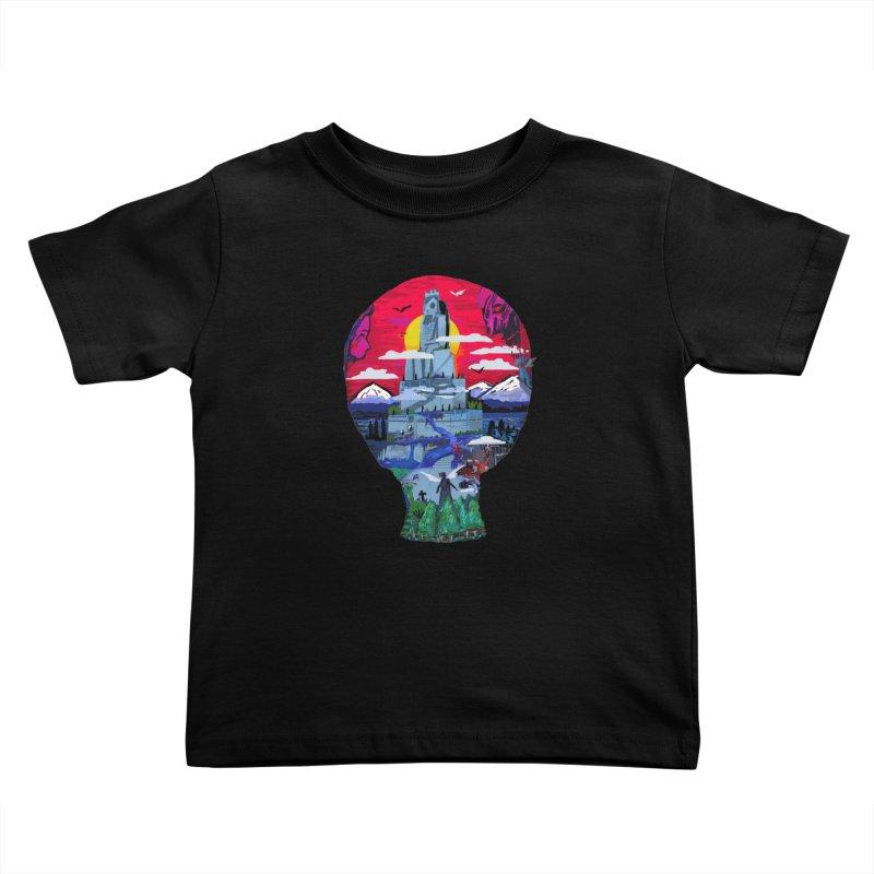 Poe's Dreamland Kids Toddler T-Shirt by Thomas Orrow