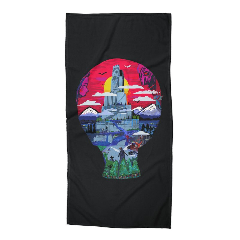 Poe's Dreamland Accessories Beach Towel by Thomas Orrow