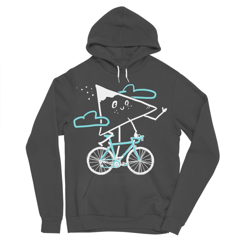 Mountain Biking Men's Sponge Fleece Pullover Hoody by Thomas Orrow