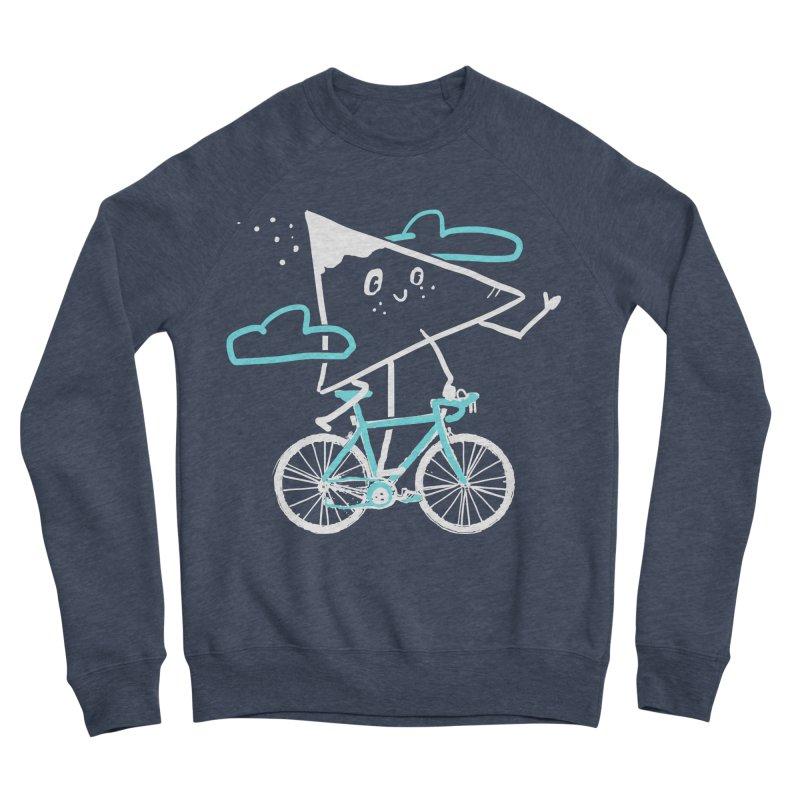 Mountain Biking Women's Sponge Fleece Sweatshirt by Thomas Orrow