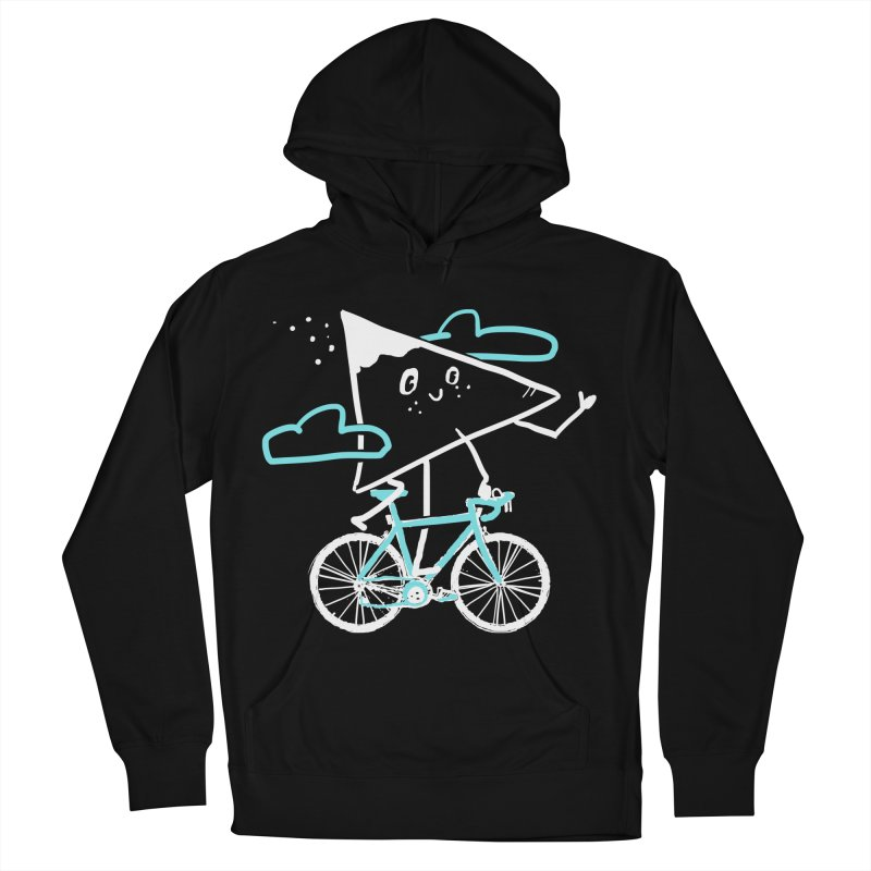 Mountain Biking Women's French Terry Pullover Hoody by Thomas Orrow