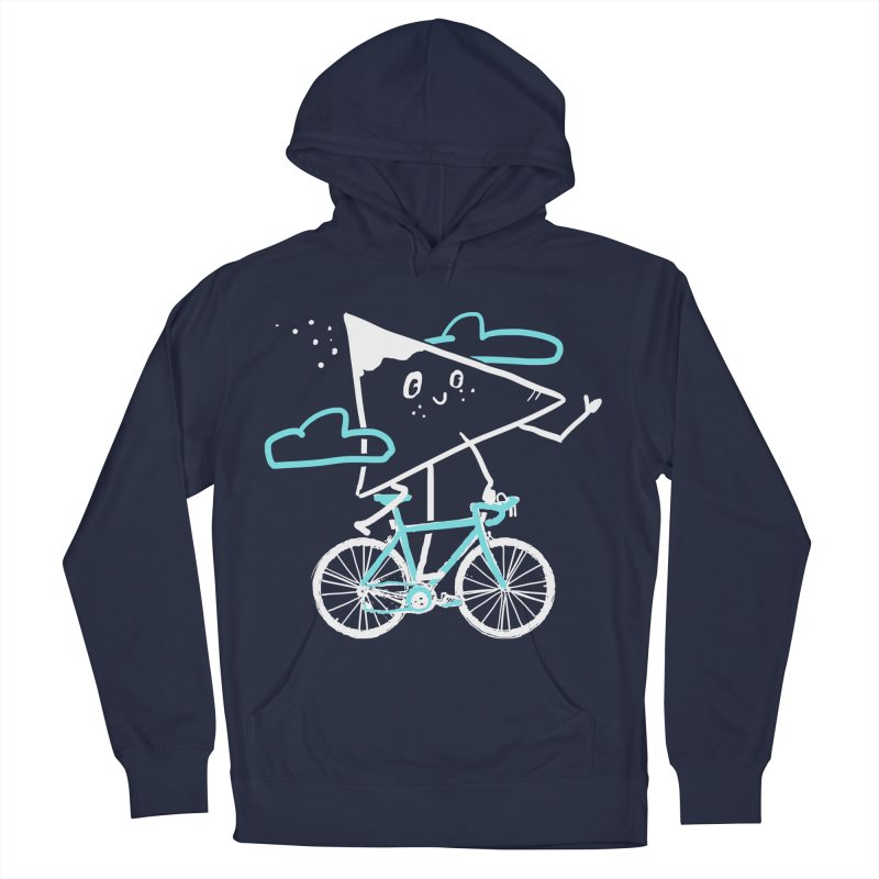 Mountain Biking Men's French Terry Pullover Hoody by Thomas Orrow