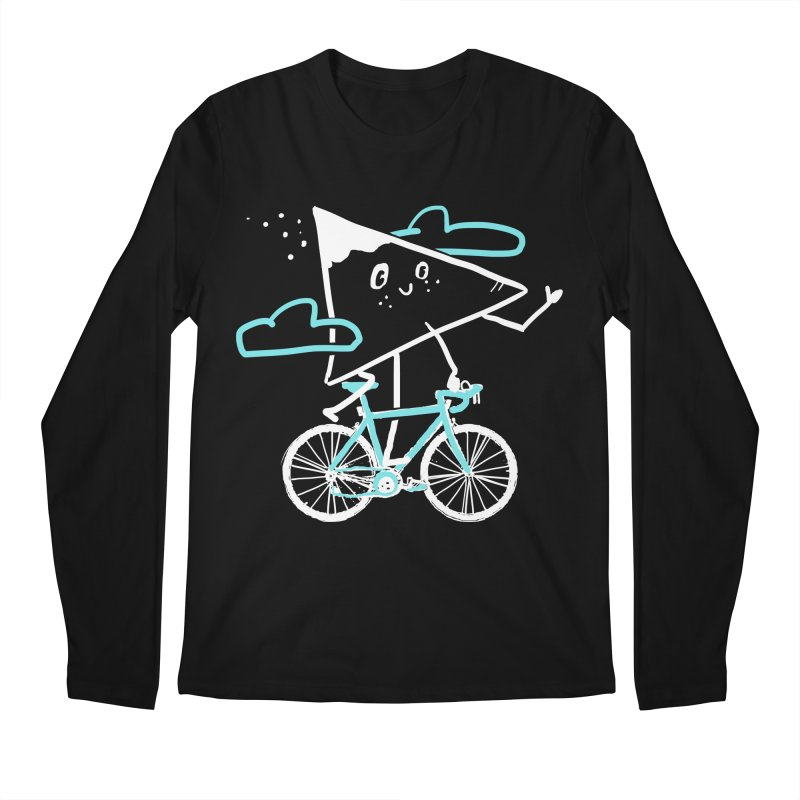 Mountain Biking Men's Regular Longsleeve T-Shirt by Thomas Orrow