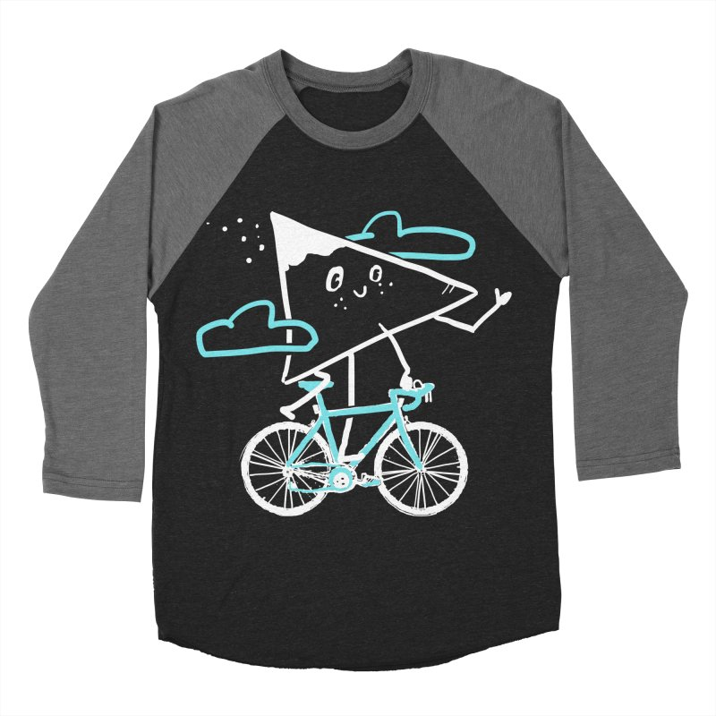 Mountain Biking Men's Baseball Triblend Longsleeve T-Shirt by Thomas Orrow