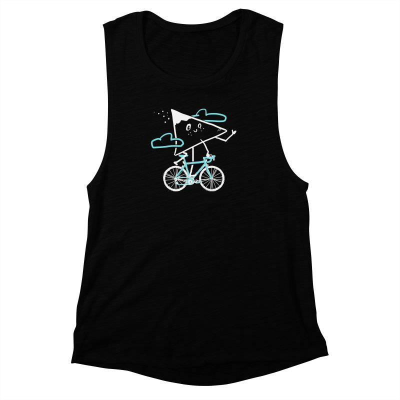 Mountain Biking Women's Muscle Tank by Thomas Orrow