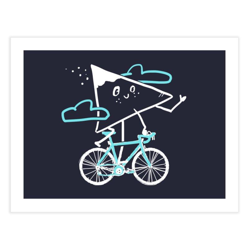 Mountain Biking Home Fine Art Print by Thomas Orrow