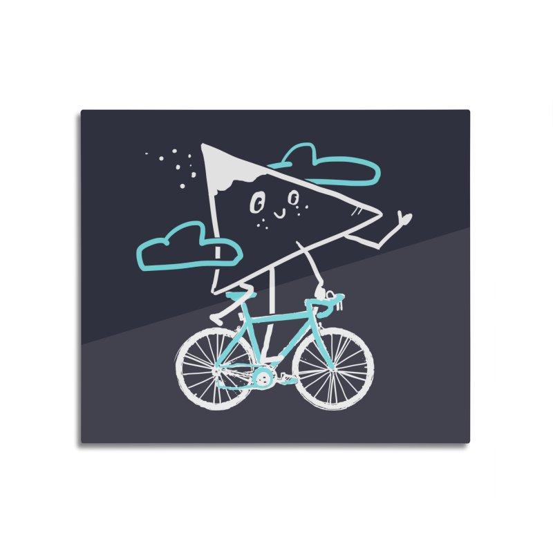 Mountain Biking Home Mounted Acrylic Print by Thomas Orrow