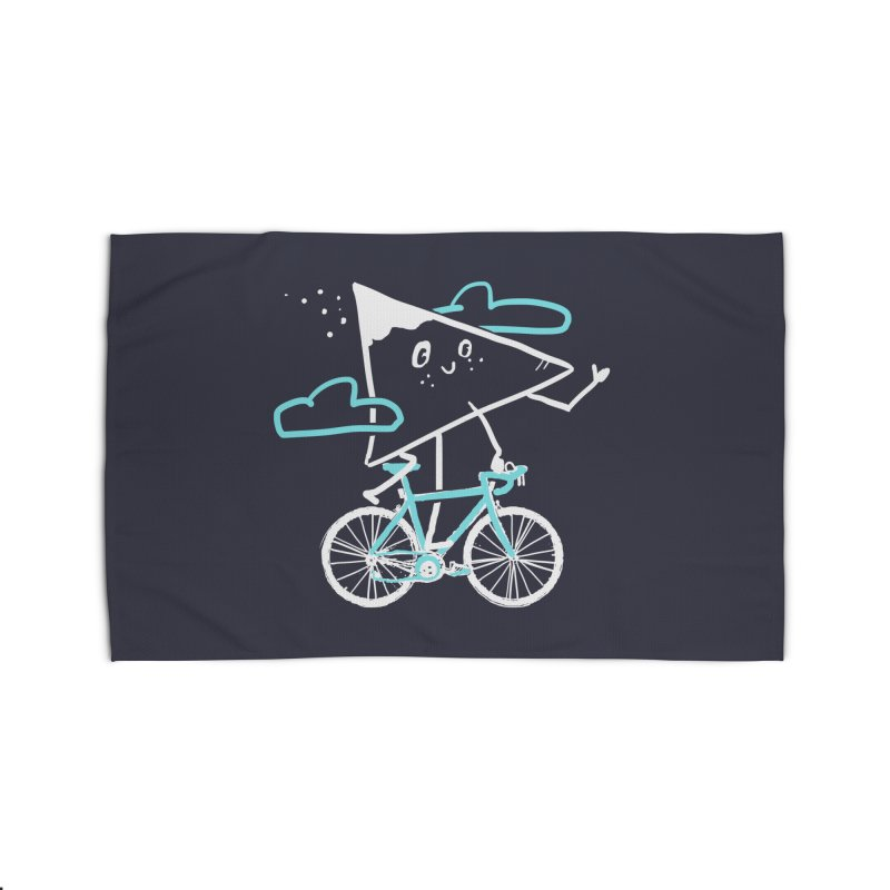 Mountain Biking Home Rug by Thomas Orrow