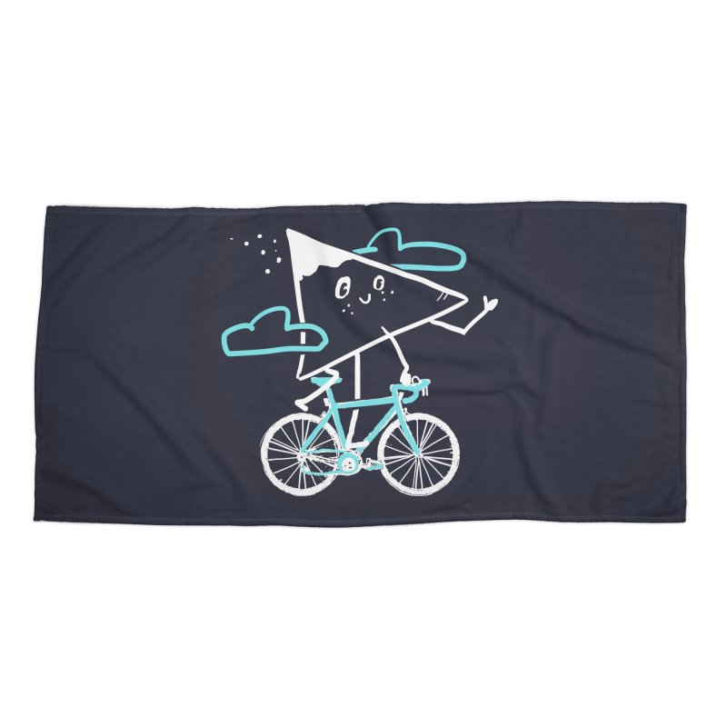 Mountain Biking Accessories Beach Towel by Thomas Orrow