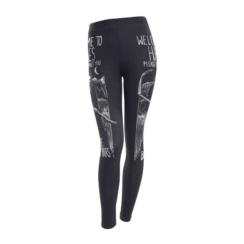 Welcome to Hades Women's Leggings Bottoms by Thomas Orrow