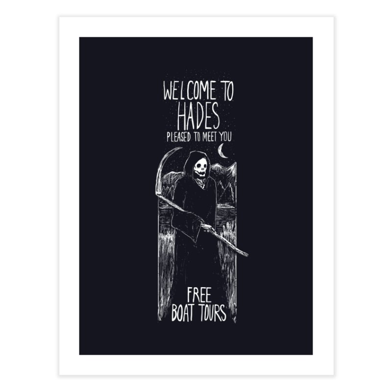 Welcome to Hades Home Fine Art Print by Thomas Orrow