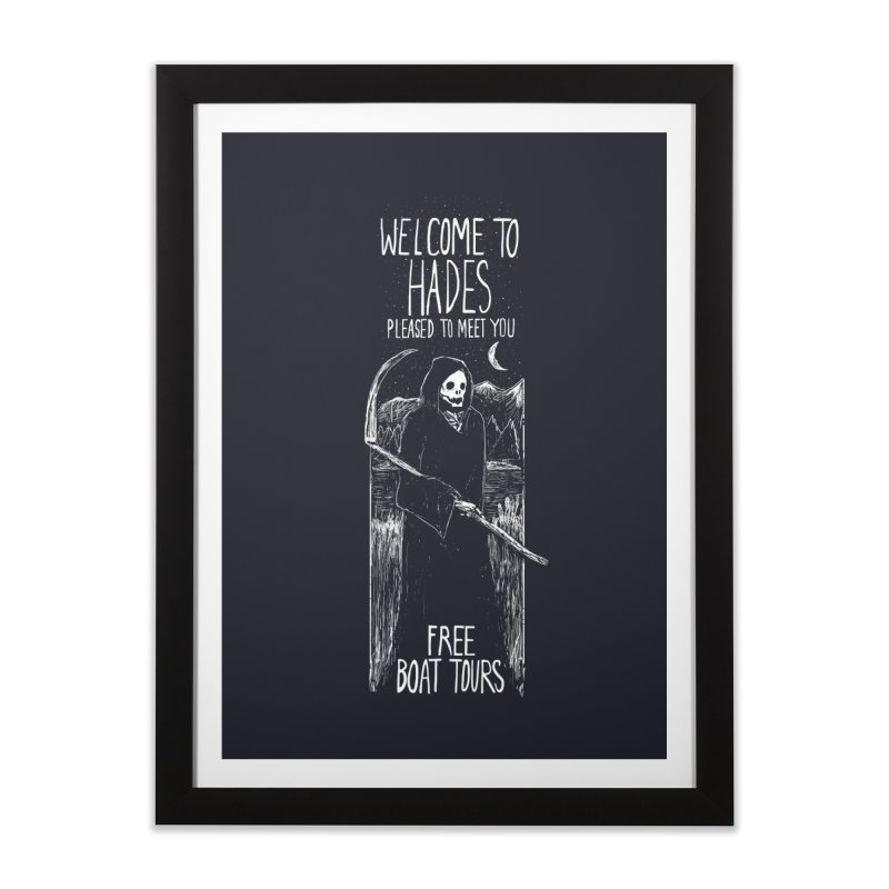 Welcome to Hades Home Framed Fine Art Print by Thomas Orrow