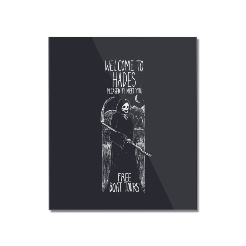 Welcome to Hades Home Mounted Acrylic Print by Thomas Orrow