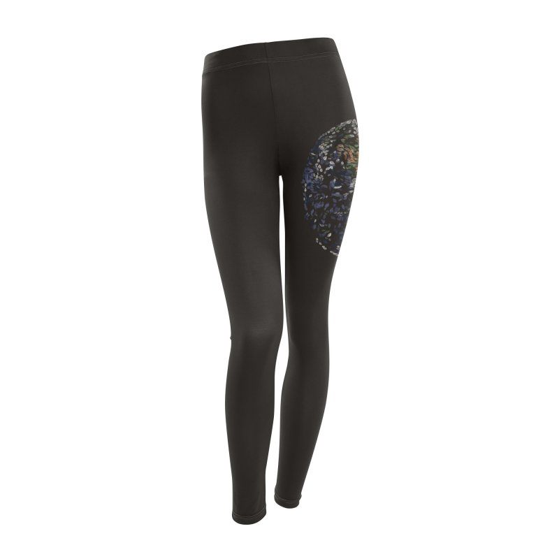 Leave This World Women's Leggings Bottoms by Thomas Orrow