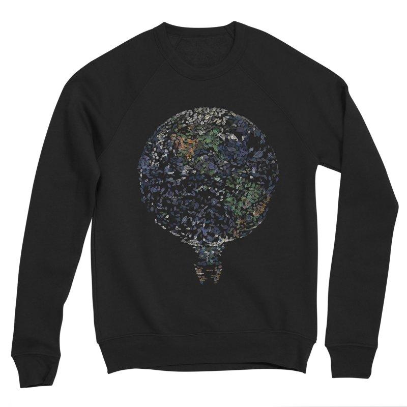 Leave This World Men's Sponge Fleece Sweatshirt by Thomas Orrow