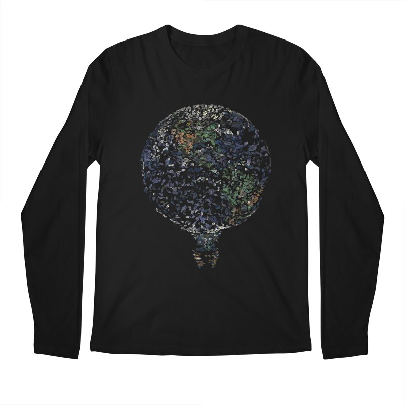 Leave This World Men's Regular Longsleeve T-Shirt by Thomas Orrow