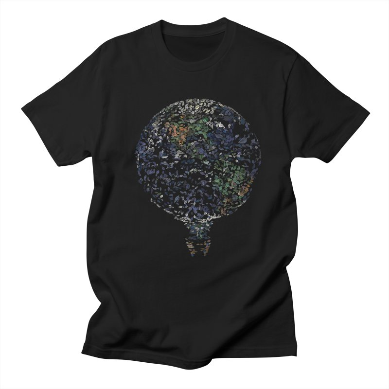 Leave This World Men's Regular T-Shirt by Thomas Orrow