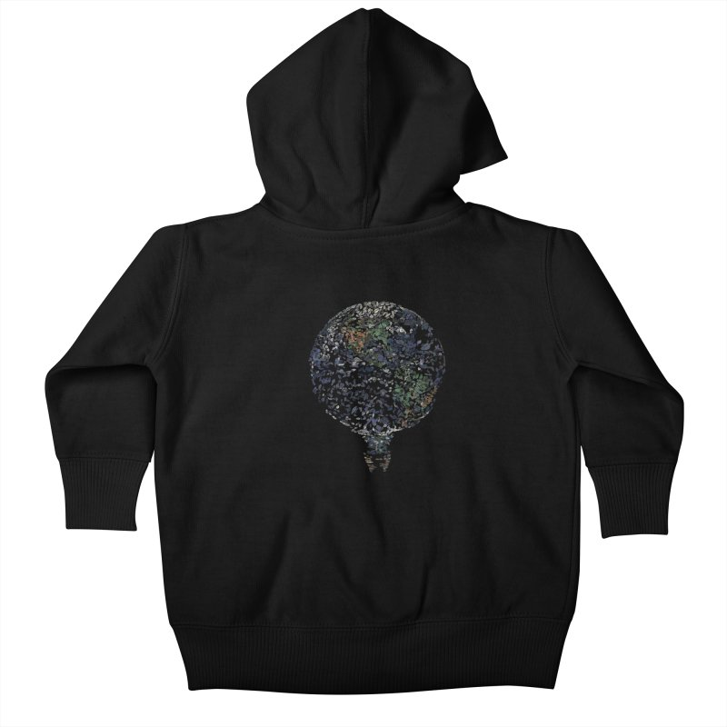 Leave This World Kids Baby Zip-Up Hoody by Thomas Orrow
