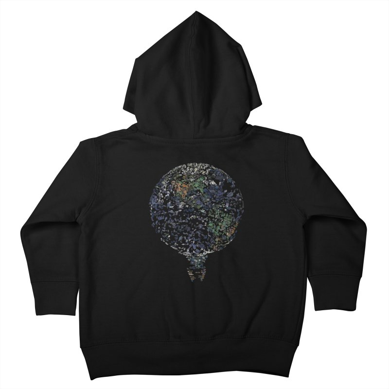 Leave This World Kids Toddler Zip-Up Hoody by Thomas Orrow