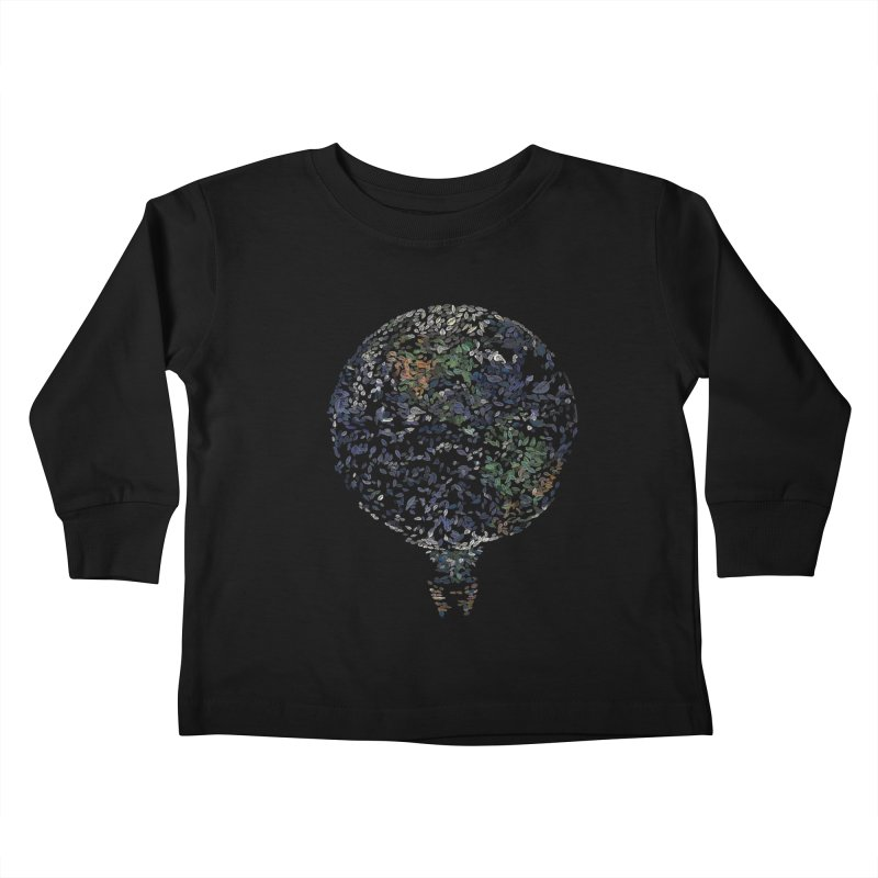 Leave This World Kids Toddler Longsleeve T-Shirt by Thomas Orrow